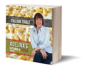 Self publishing cookbook Adelina's Kitchen Italian Table